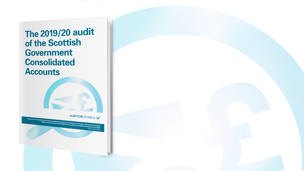 The 2019/20 audit of the Scottish Government Consolidated Accounts Report