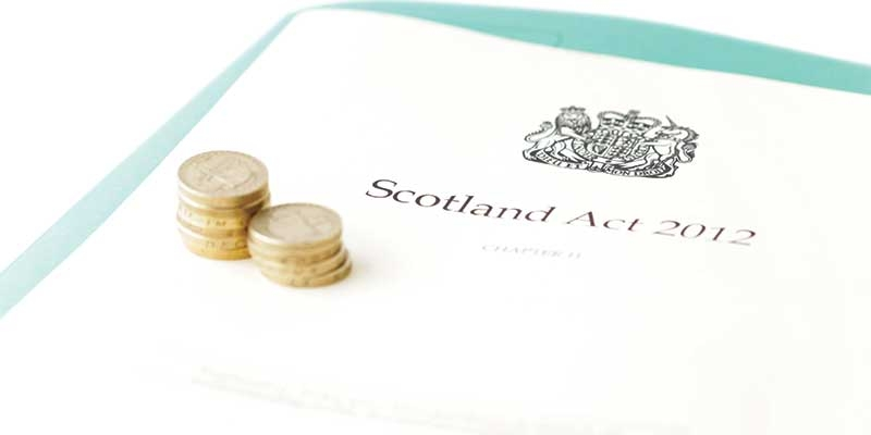 Implementing the Scotland Act 2012 cover